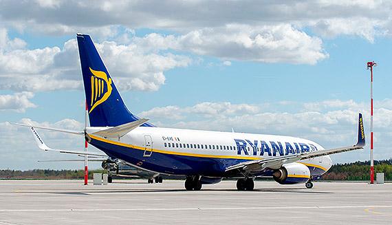 Już od 2 maja RYANAIR wraca na trasę ze Szczecina do Krakowa!