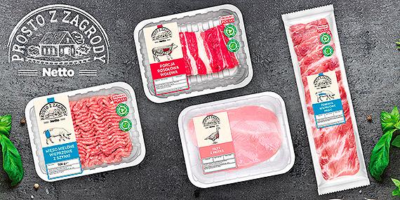 """""""Prosto z zagrody"""" – świeże polskie mięso w Netto"""