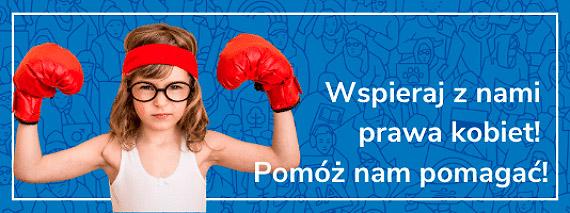 Wspieraj z nami prawa kobiet!