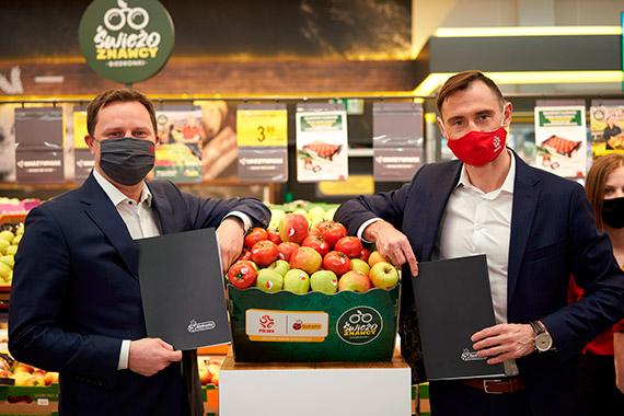 Biedronka oficjalnym dostawcą owoców i warzyw dla Biało-Czerwonych