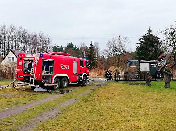 Dramat w Przytorze. W nocnym pożarze stodoły spłonęły zwierzęta!