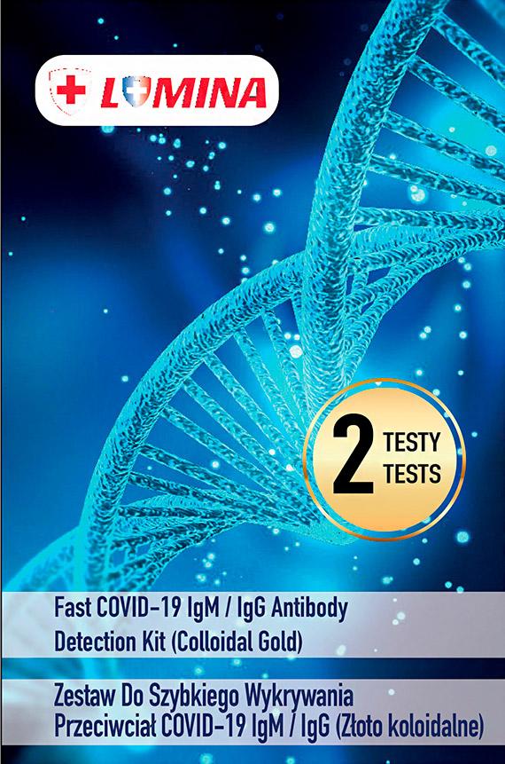 Testy na obecność przeciwciał Covid-19 w Netto