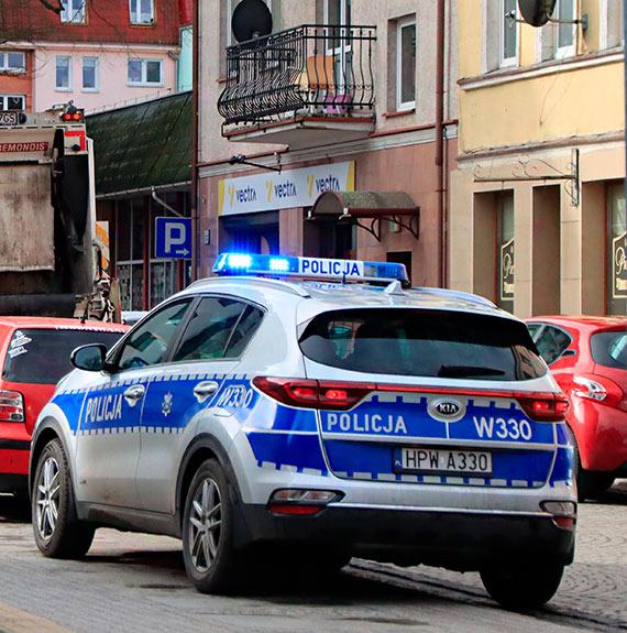 Policja sprawdzała odbywanie kwarantanny. Niektórych nie było w domu