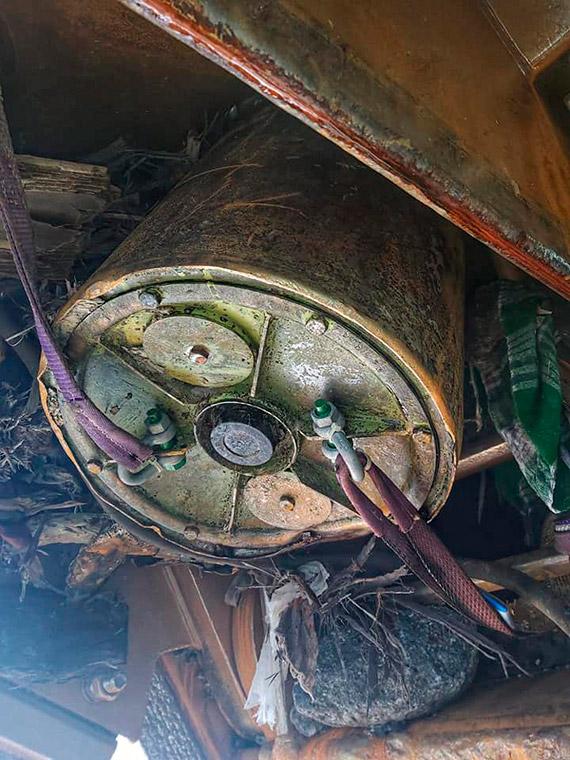 W trakcie prac na torze wodnym Szczecin - Świnoujście pogłębiarka natrafiła na bombę głębinową!