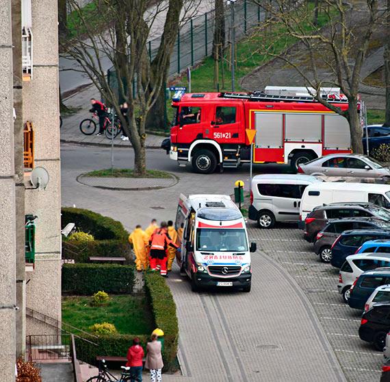 Strażacy pomogli zespołowi ratownictwa medycznego