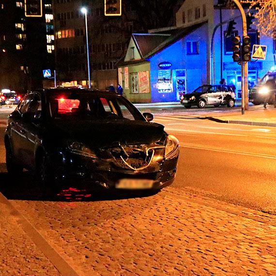Zamyślony kierowca spowodował kolizję