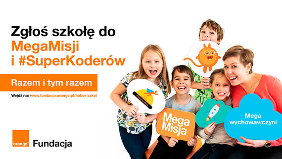 Fundacja Orange dla szkół – w trosce o dzieci w cyfrowym świecie