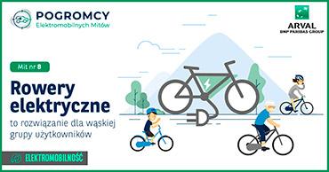 Rower elektryczny to rozwiązanie dla wąskiej grupy użytkowników