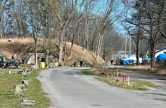Ulica Jachtowa. Rusza budowa drogi rowerowej, chodnika i miejsc postojowych