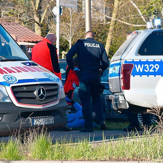 Nastolatek stracił panowanie nad kierownicą - zderzenie rowerzystów
