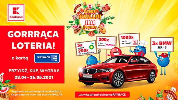 Trzy razy BMW i ponad tysiąc innych nagród w loterii Kaufland i PAYBACK