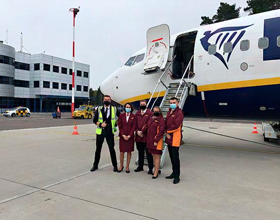 2 maja RYANAIR wrócił na trasę ze Szczecina do Krakowa!!!!!
