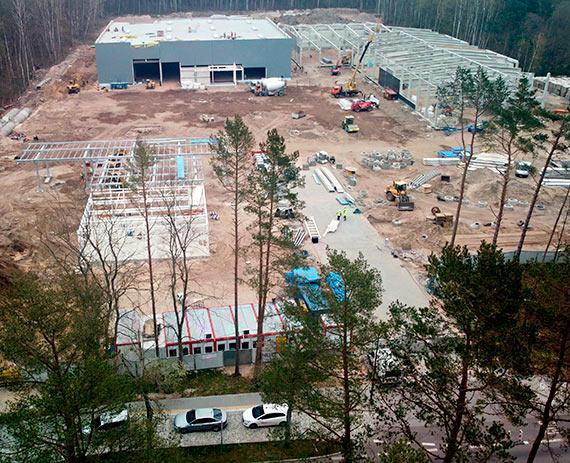 Co zmieniło się na terenie budowy parku handlowego przy Wojska Polskiego? Zobaczcie najnowsze zdjęcia!