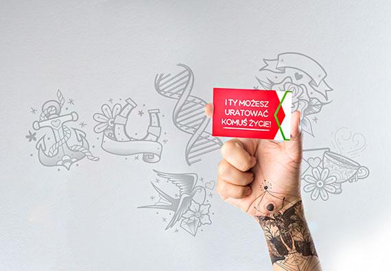 Dawca z tatuażem – historia uratowanego życia