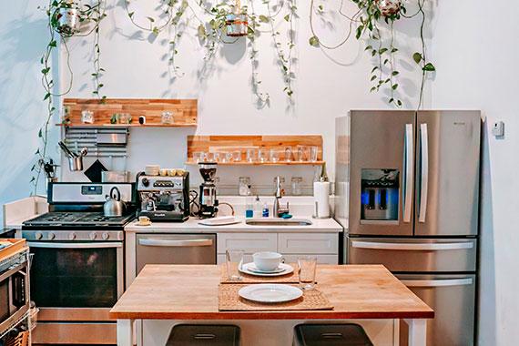 Modna kuchnia w bloku – odkryj styl vintage