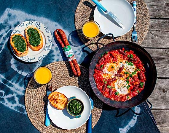 Szakszuka, czyli smakowite śniadanie na Dzień Mamy
