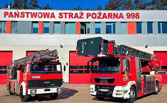 Po prawie 30 - latach służby strażacy żegnają drabinę mechaniczną. Wzięła udział w ponad 4 tysiącach akcji i ćwiczeń