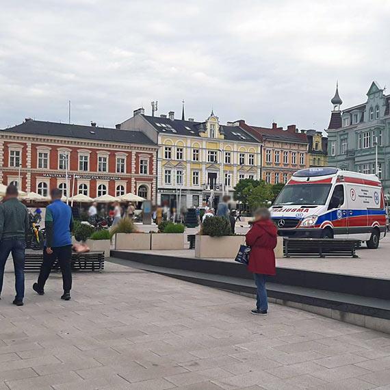 Mężczyzna po ataku padaczki nie chciał jechać do szpitala