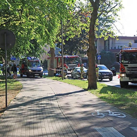 Kraksa na ulicy Moniuszki