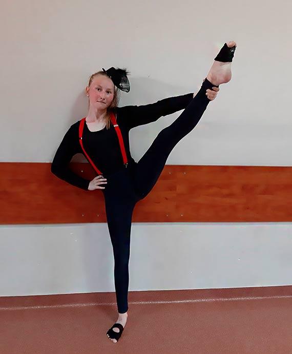 Udział tancerki ze Studio Tańca Etiuda w precastingu You can dance