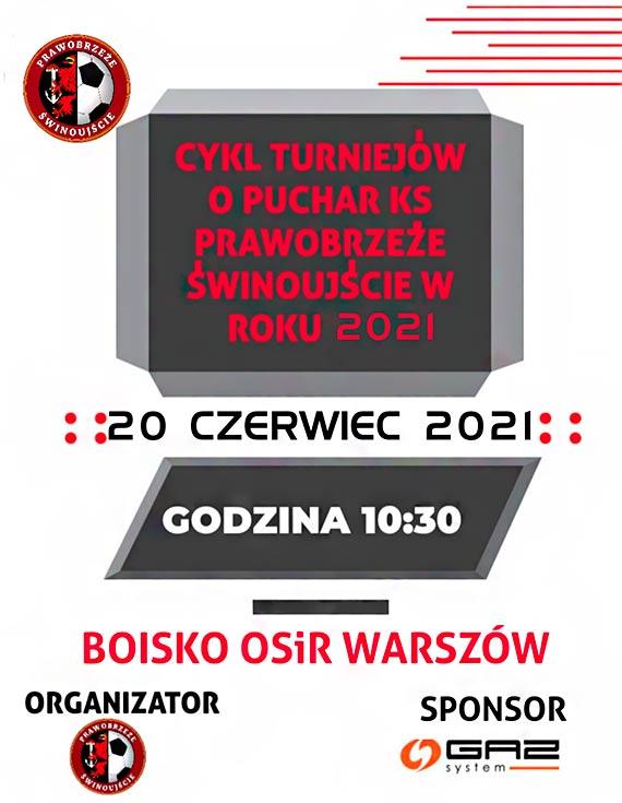 Zbliża się cykl turniejów o puchar KS Prawobrzeże Świnoujście w roku 2021