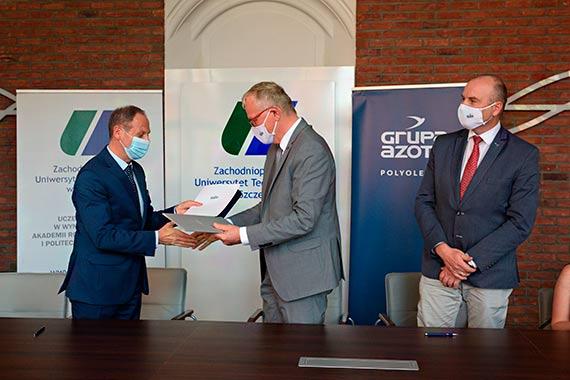 ZUT i Grupa Azoty Polyolefins S.A. podpisały porozumienie o współpracy