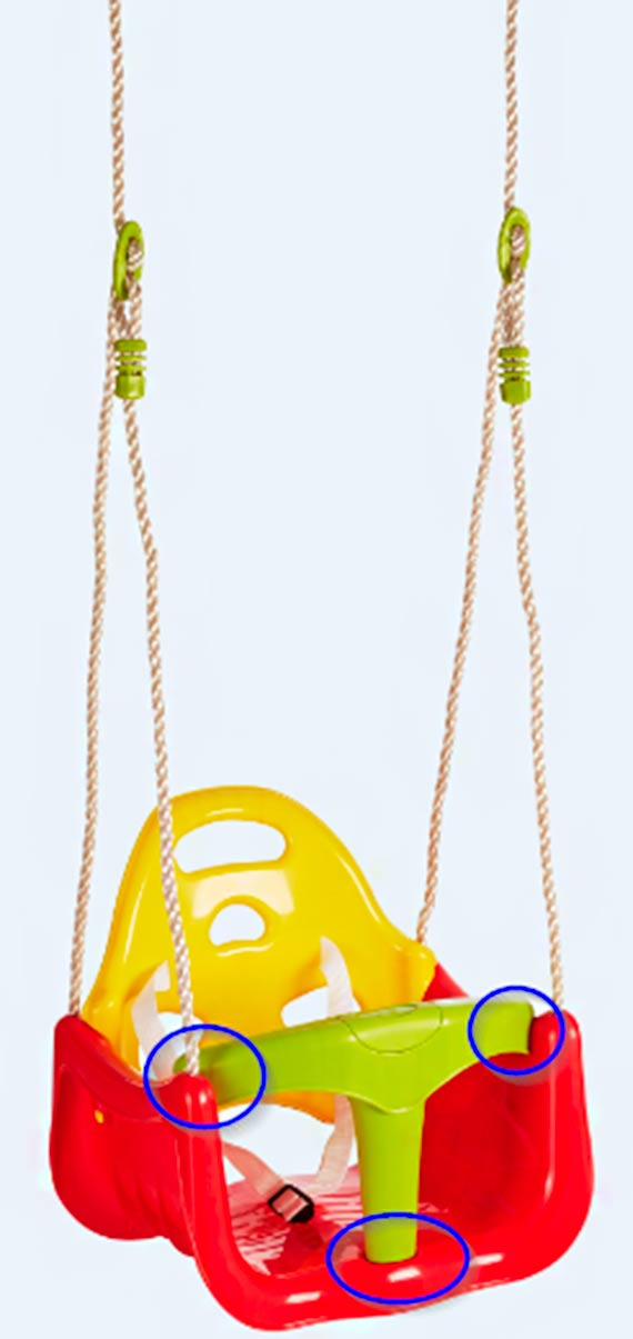 Kaufland wycofuje ze sprzedaży huśtawkę dla dzieci 3w1