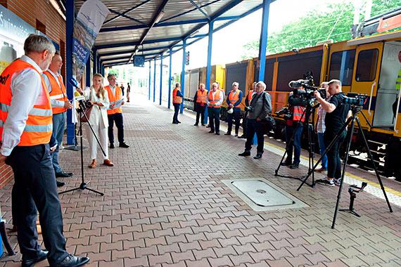 Poprawa dostępu kolejowego do portów morskich w Szczecinie i Świnoujściu. Zobacz film!