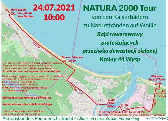 Rajd rowerowy NATURA 2000 Tour