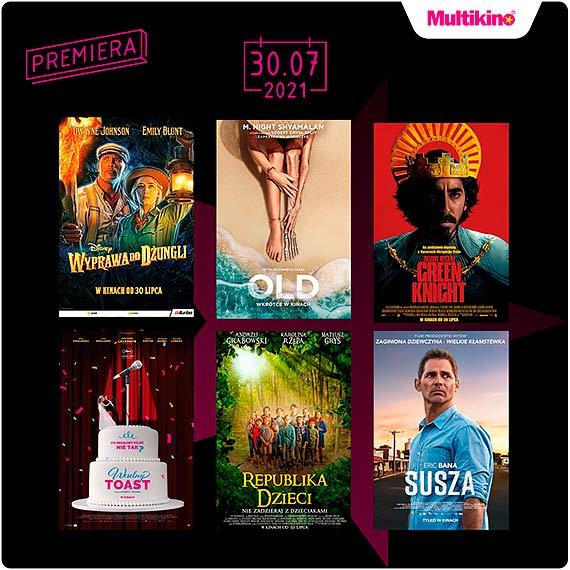 """""""Wyprawa do dżunglii"""" oraz """"Old"""" premierowo w Cinema3D!"""
