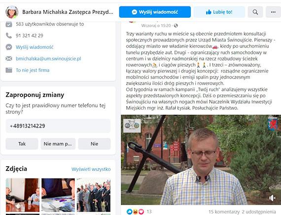 Urząd Miasta i Michalska pytają: jaki wariant ruchu w mieście byłby dobry