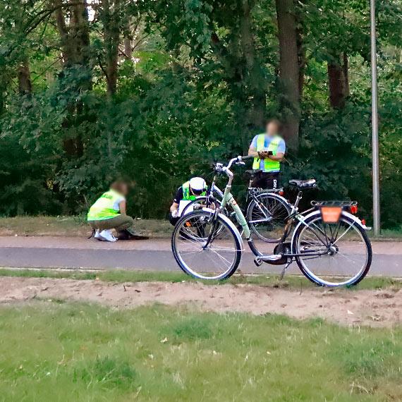 Rowerzyści zderzyli się na ścieżce
