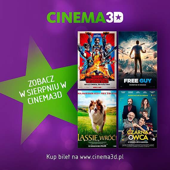 Co warto zobaczyć w sierpniu w Cinema3D?