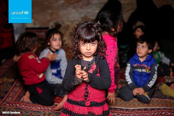 Dzieci w Syrii nie mogą dłużej czekać. Podpisz apel UNICEF Polska i pomóż zakończyć wojnę!