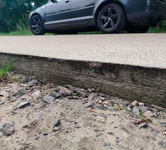 Mieszkanka: Uwaga na drogi tymczasowe na ulicy Kanałowej w Karsiborze!!!