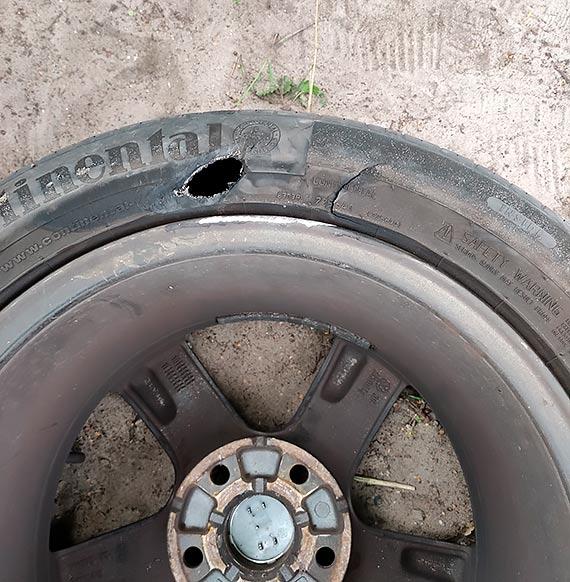 Mieszkanka: Uwaga na drogi tymczasowe na ulicy Kanałowej w Karsiborze!!! [1]