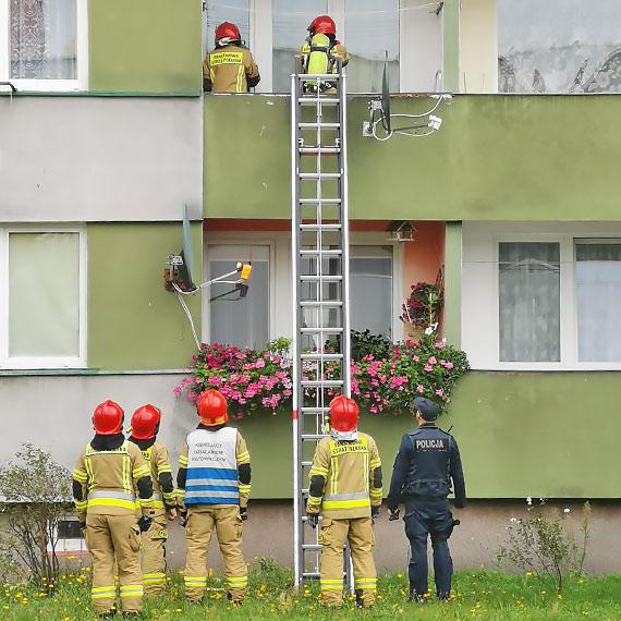 W mieszkaniu przy ulicy Matejki znaleziono dwa ciała