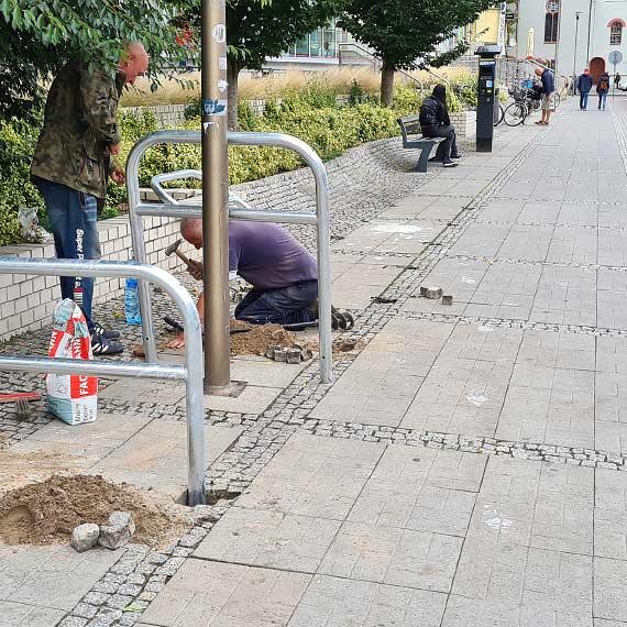 ETZT: w Świnoujściu przybędzie 50 rowerowych stojaków