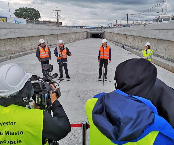 Budowa tunelu w Świnoujściu na ukończeniu