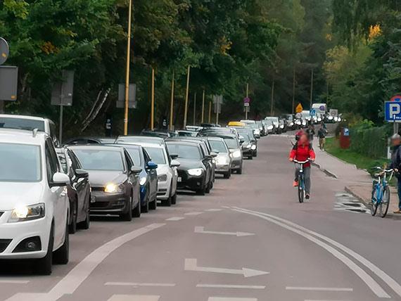 Gigantyczne korki w Świnoujściu, część miasta jest sparaliżowana! Panuje totalny chaos! [3]