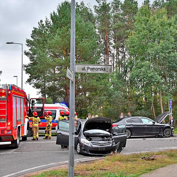 Wypadek samochodowy w Przytorze [1]