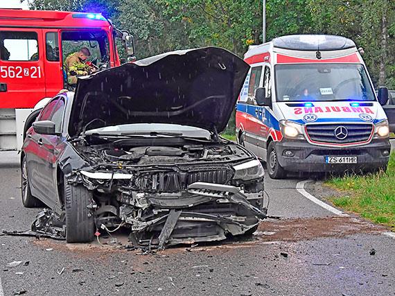 Wypadek samochodowy w Przytorze [2]