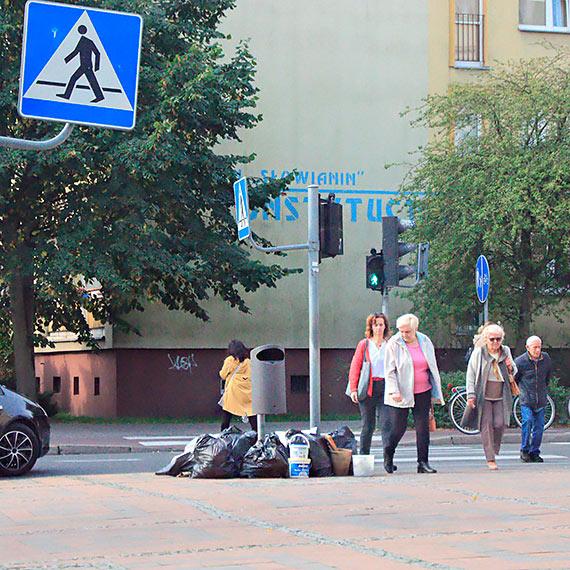Śmieci wyszły na ulicę?