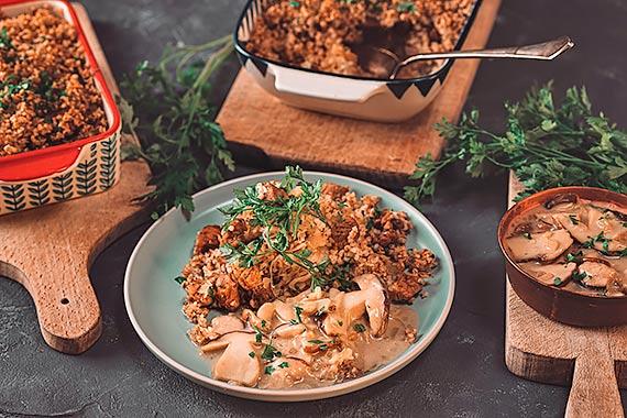Przepis kulinarny Zapiekanka estońska z kaszą jęczmienną