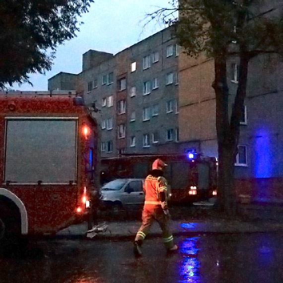 Zamiast karetki do poszkodowanego pojechali strażacy