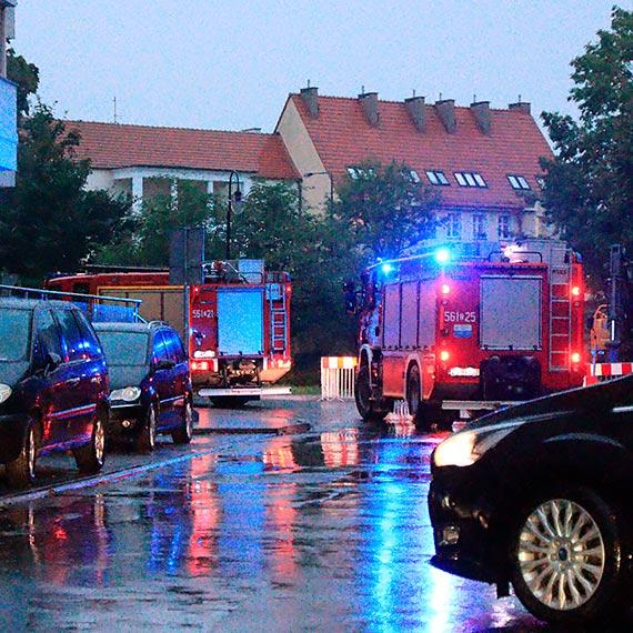 Zamiast karetki do poszkodowanego pojechali strażacy [1]