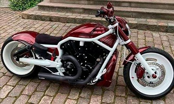W Greifswaldzie został skradziony Harley-Davidson