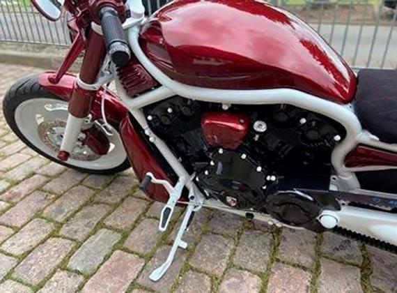 W Greifswaldzie został skradziony Harley-Davidson [1]