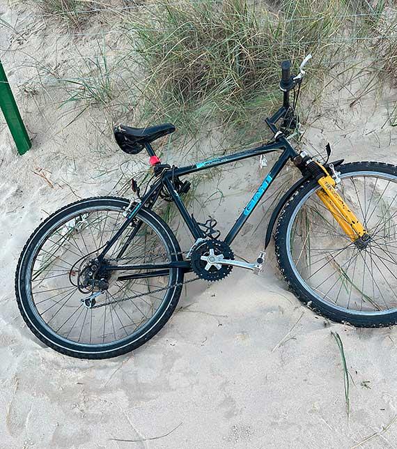 Ktoś zapomniał o rowerze?